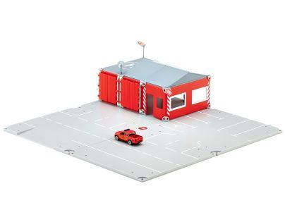 Siku World 5502 Požární stanice a Dárek