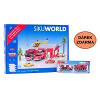 Siku World Požární stanice a dárek