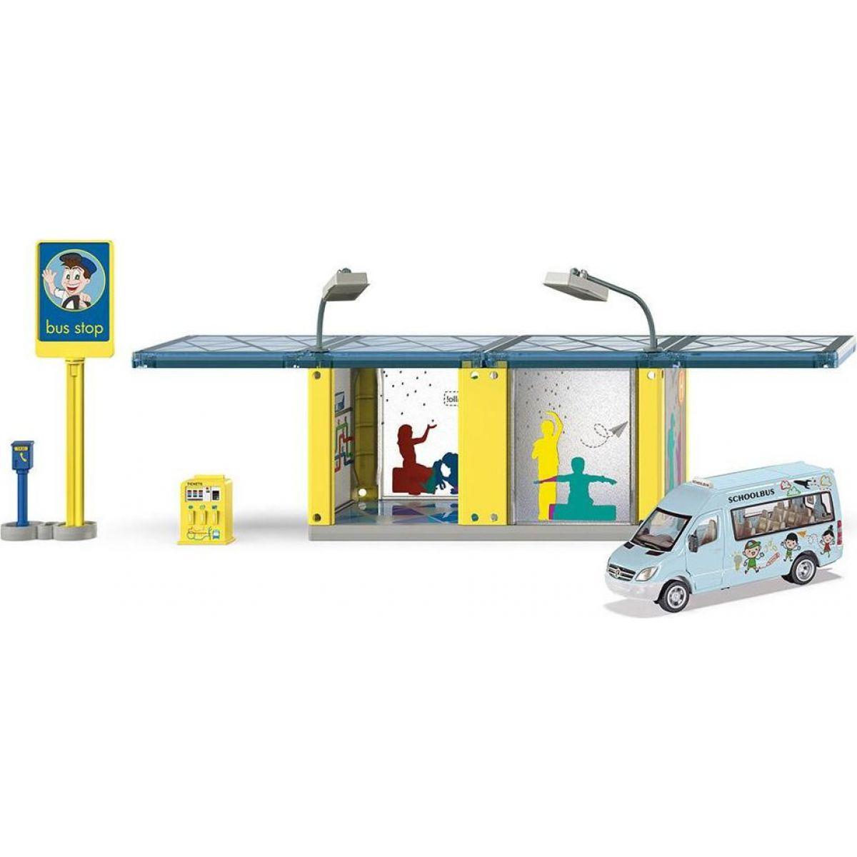 Siku World 5509 autobusová zastávka