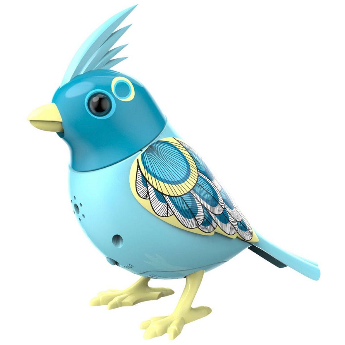 Silverlit DigiBirds Ptáček - Světle modrá