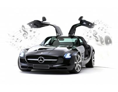 Silverlit 86074 - R/C auto Mercedes-Benz SLS AMG (iPhone,iPad)