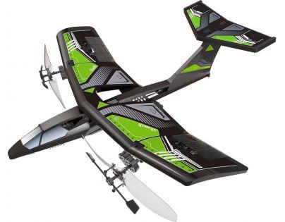 Silverlit RC Mini V-Jet Letadlo - Zelená