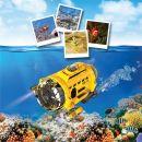 Silverlit RC Ponorka Spy Cam Aqua 4