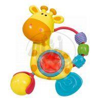 Simba S 4014637 - Chrastítko žirafa se světlem a zvuky