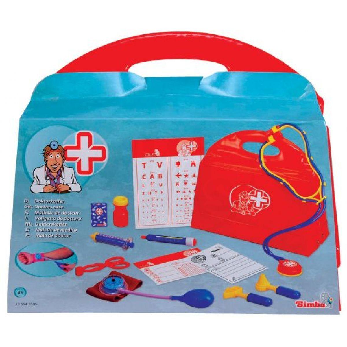SIMBA S 5545506 - Doktorský kufřík 13 dílů