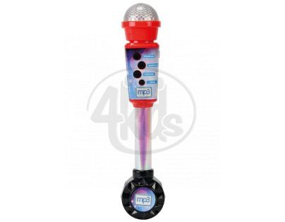 Simba S 6830401 - Elektronický mikrofon 30cm, vstup pro MP3