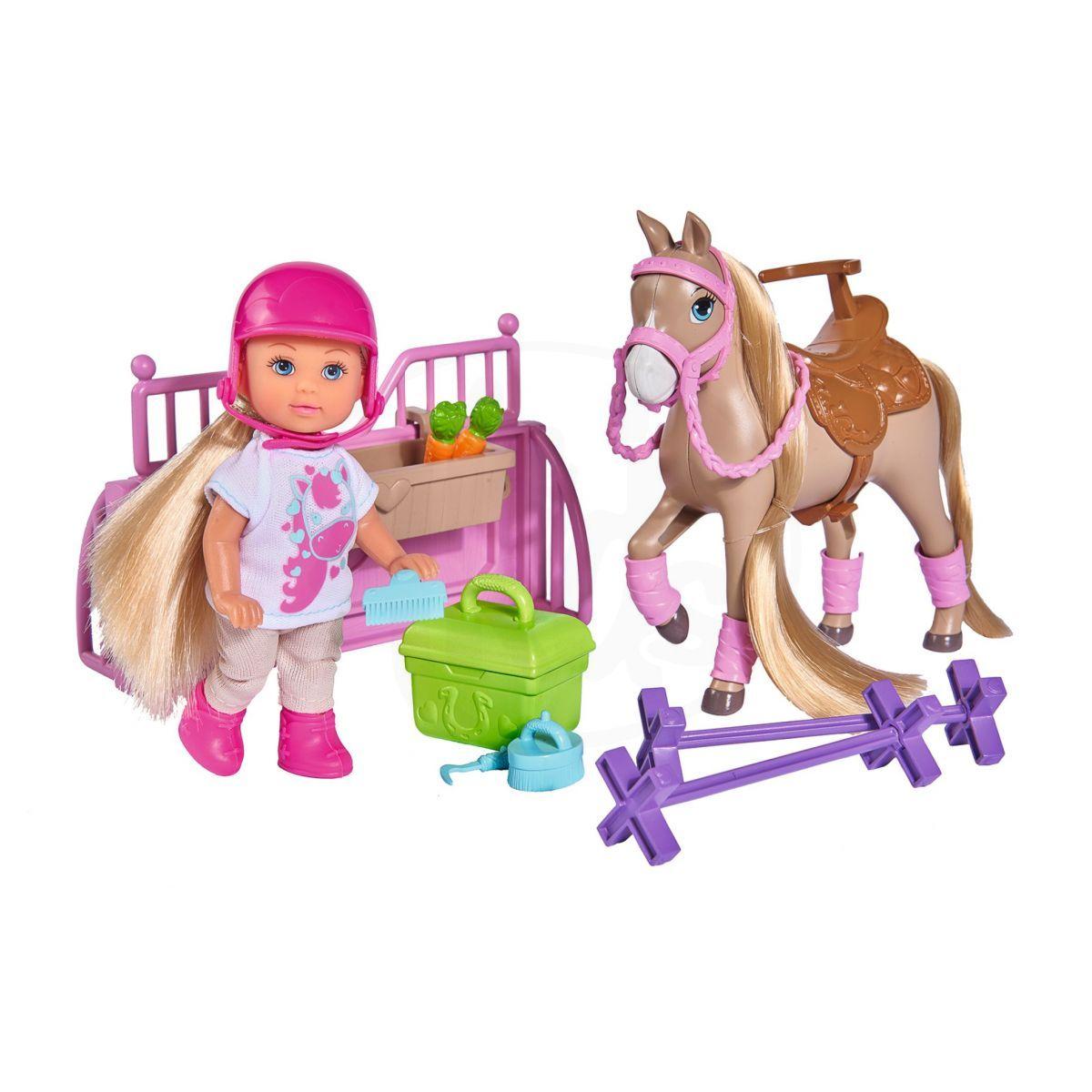 Simba Evi Love Panenka Evička Stáj s koněm