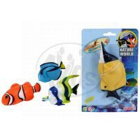 Simba S 4348419 - Gumové strečové ryby Oceán, 14cm Modrá