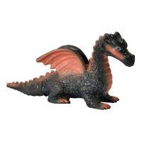 Simba Gumový strečový drak - Černý drak