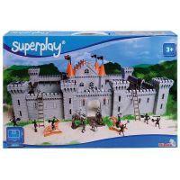 Simba Superplay S 4355414 - Hrad Falcon se 6 věžemi + příslušenství