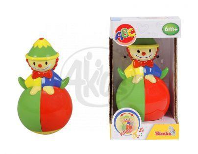 Simba S 4014732 - Kývací klaun