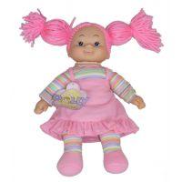 Simba Látková panenka Cheeky 38cm - Vlasy růžové - nezapletené