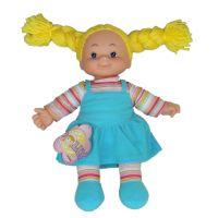 Simba Látková panenka Cheeky 38cm - Vlasy žluté - zapletené