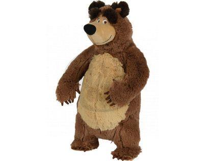 Simba Máša a medvěd Plyšový Medvěd 38 cm stojící