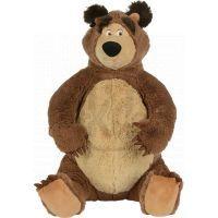 Simba Máša a medvěd Plyšový Medvěd 50 cm sedící