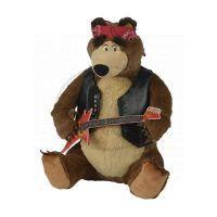Simba Máša a medvěd Plyšový Medvěd rocker hrající 30 cm