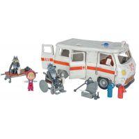 Simba Máša a medvěd Ambulance hrací set - Poškozený obal