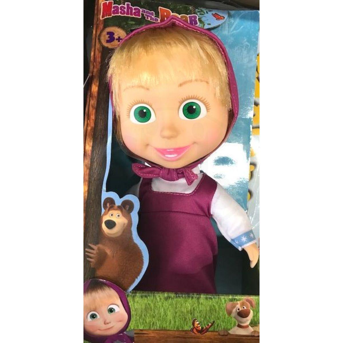 Simba Máša a medvěd panenka Máša 23 cm v červené