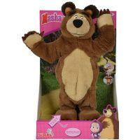Simba Máša a medvěd Plyšový Tančící medvěd 35 cm 2