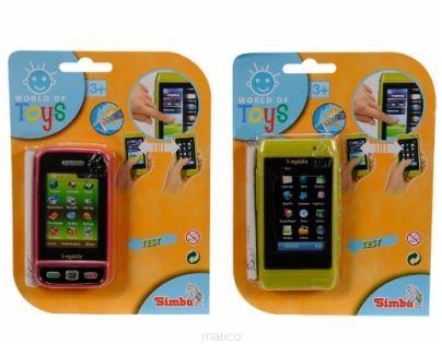 Simba S 4516304 - Mobil s dotykovým displejem, 2 druhy