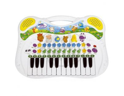 Simba S 4015670 - Multifunkční piano se zvířátky