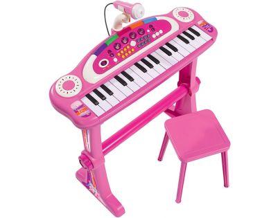 Simba My Music World Girls Klávesy s mikrofonem
