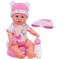 Simba New Born Baby Panenka s oblečením 30 cm