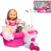 Simba Bábika Evička kúpe psíka