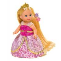 Simba Panenka Evička Rapunzel s extra dlouhými vlasy - Blondýnka-zlatá korunka