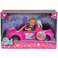 Simba Panenka Evička s autem New Beetle 2