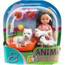 Simba Panenka Evička s domácími mazlíčky - Bílí pejsci 2