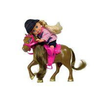 Simba S 5737464 - Panenka Evička s poníkem, 3 druhy 5
