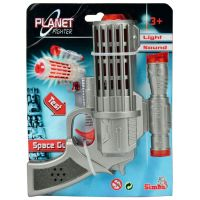 Simba Planet Fighter Laserová pistole 16 cm