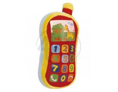 Simba S 4012745 - Plyšový telefon se zvukem
