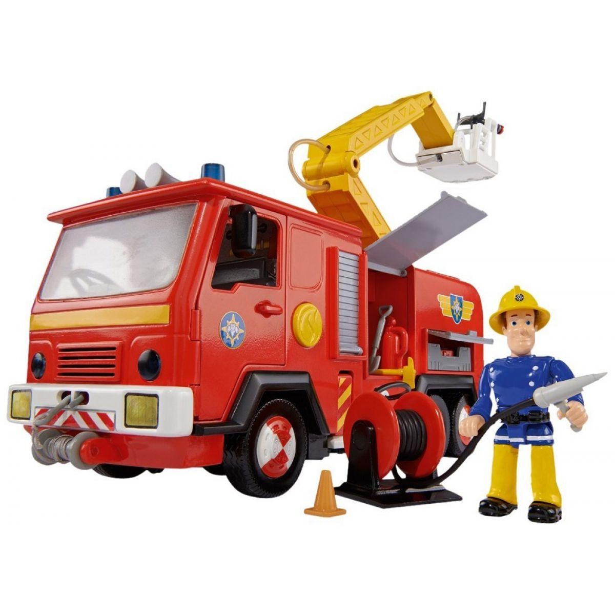 Simba Požárník Sam Hasičské auto Jupiter
