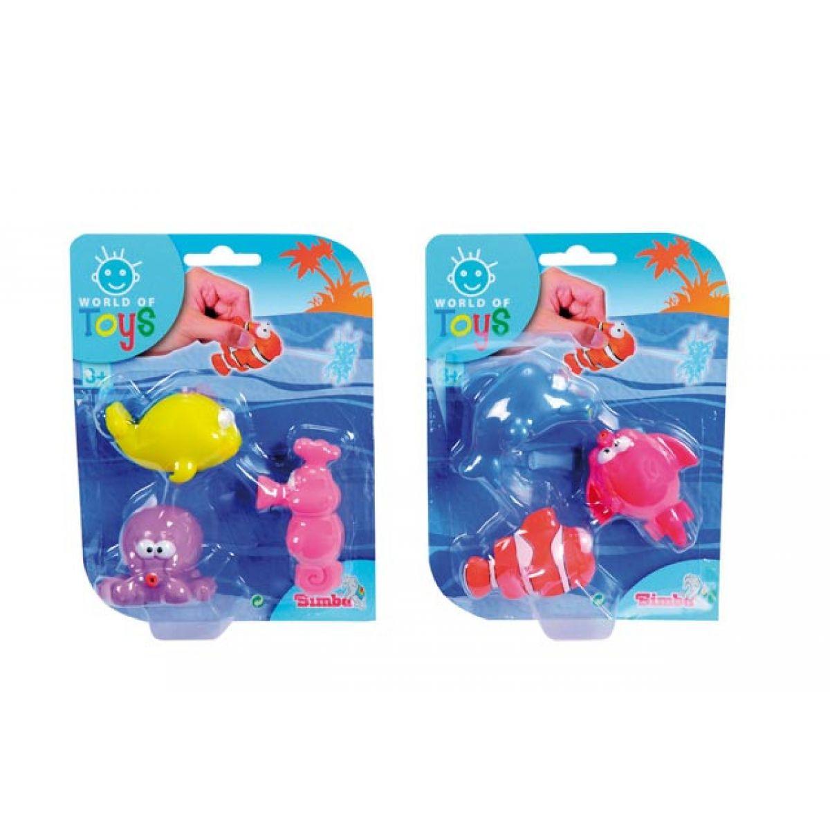 Simba Vodní stříkací zvířátka 7 cm