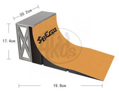 Skateboard mini dráha - Fingerboard