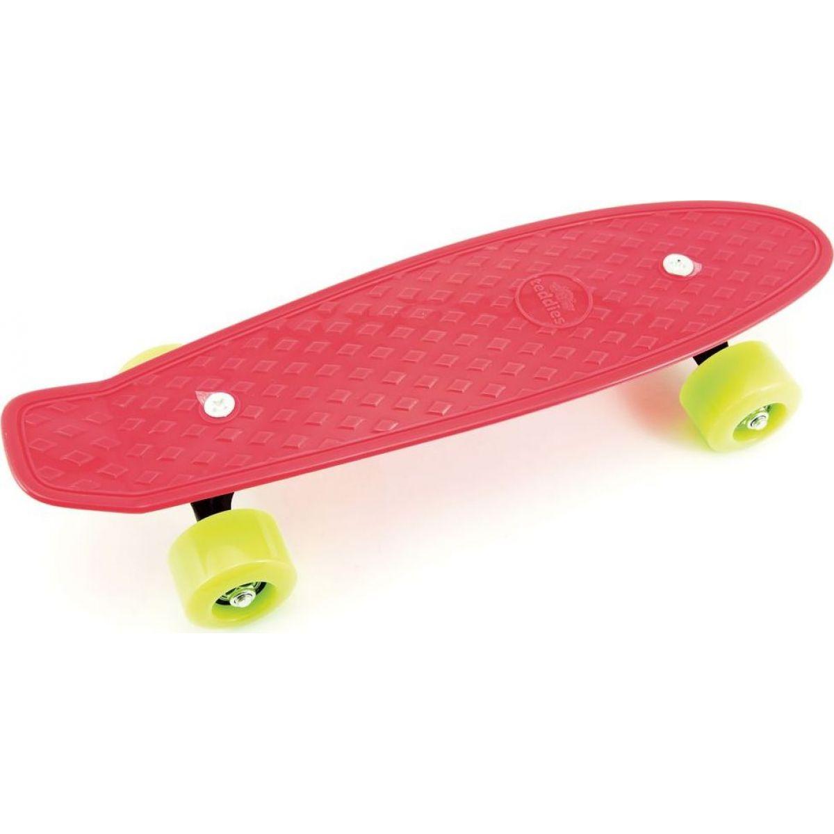 Skateboard pennyboard 43 cm červený