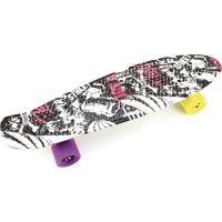 Skateboard pennyboard 60 cm černobílý vzor