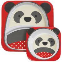 Skip Hop Zoo Jídelní set Panda D