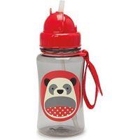 Skip Hop Zoo Lahvička s brčkem Panda D