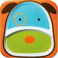Skip Hop Zoo Talířek 2 v 1 Pejsek