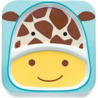 Skip Hop Zoo Talířek 2 v 1 Žirafa