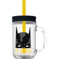 Sklenice plastová 690 ml Batman