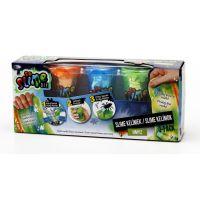 Slime sliz 3 pack pre chlapcov oranžový, modrý, zelený 3