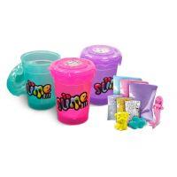EP Line Slime sliz 3pack pro holky zelený, fialový, růžový