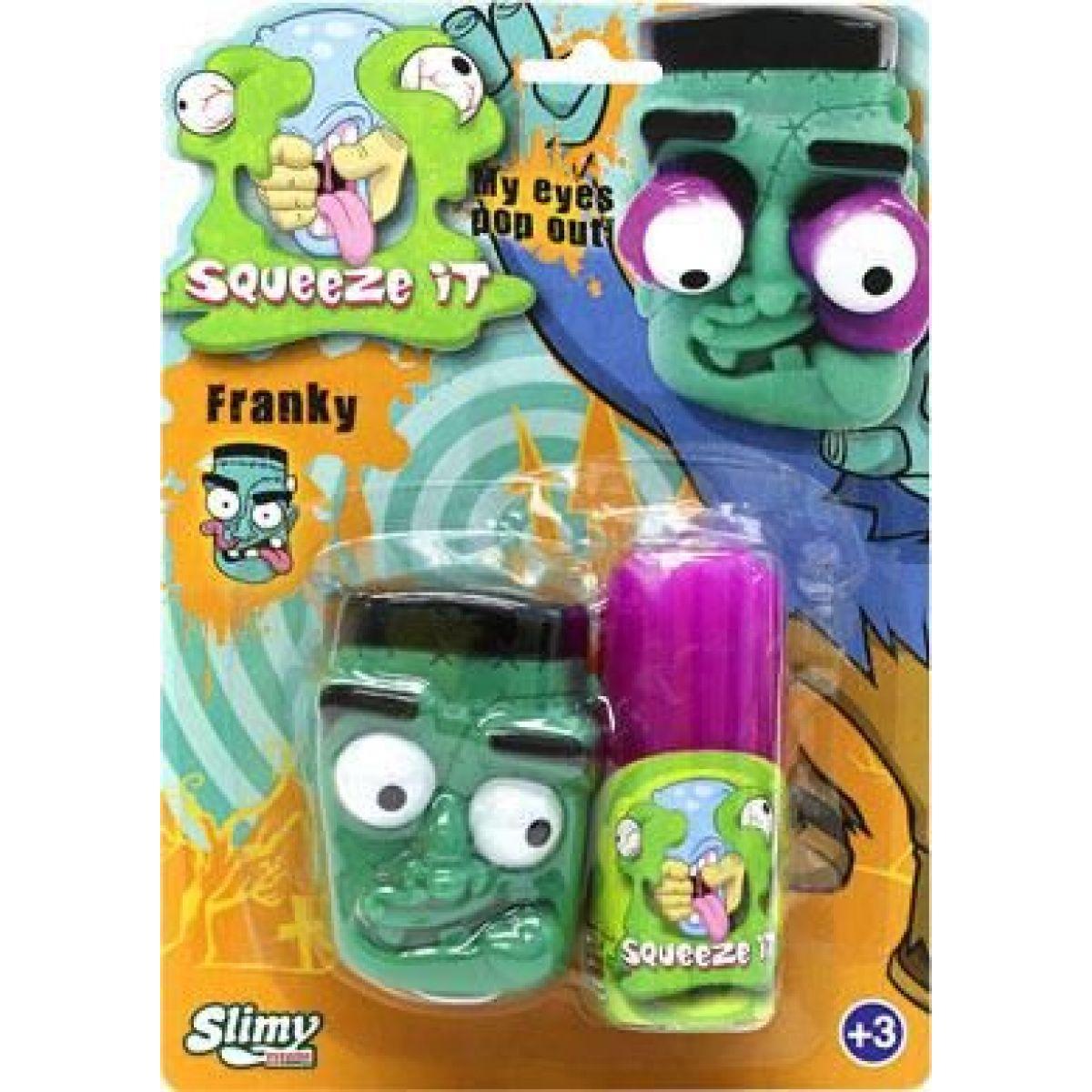 EP Line Slimy se zombie hlavou 80 g slizu fialový sliz
