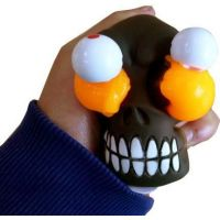 EP Line Slimy se zombie hlavou 80 g slizu oranžový sliz 2