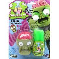 EP Line Slimy se zombie hlavou 80 g slizu zelený sliz