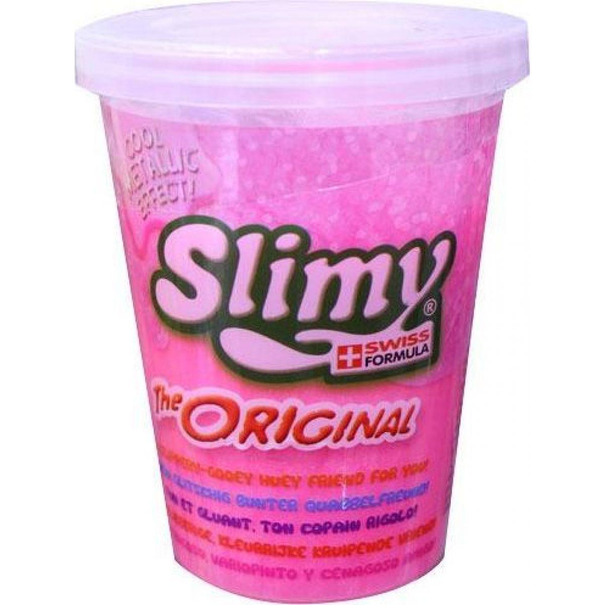 EP Line Slimy sliz metalic kelímek 80 g růžový